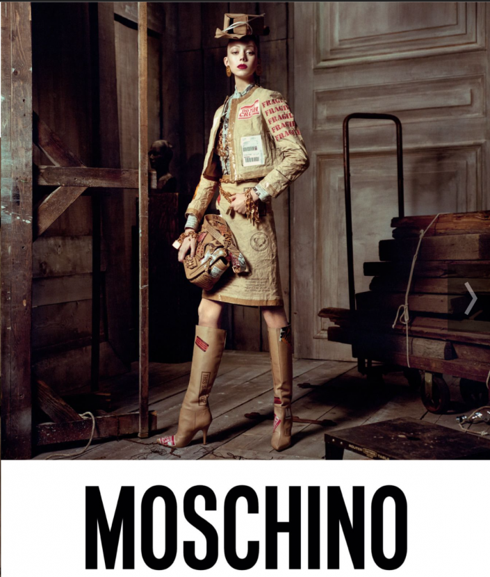 Can't wait to have this Moschino jacket on location
