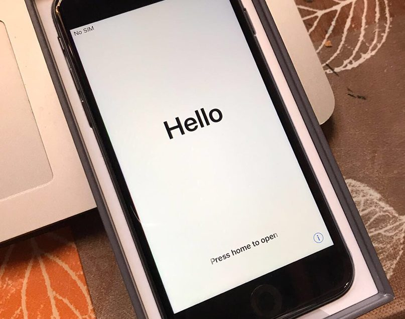 Thanks Apple for asking me to test the iPhone 8