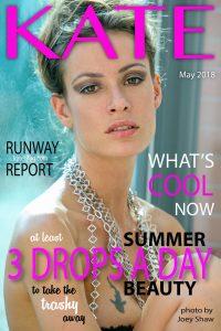 kate magazine cover