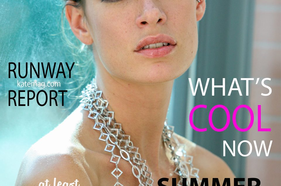 kate magazine cover by joey shaw
