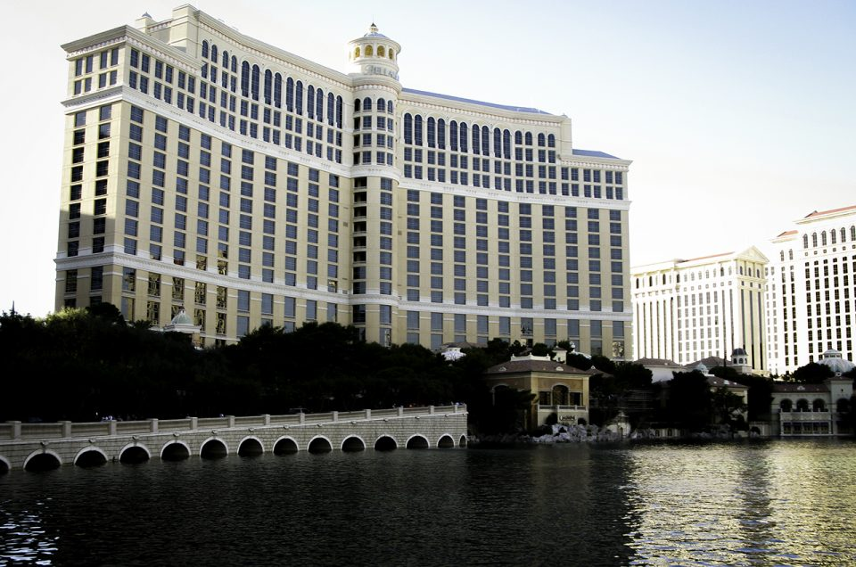 Bellagio is not a place to visit, it's a place to live when in LV