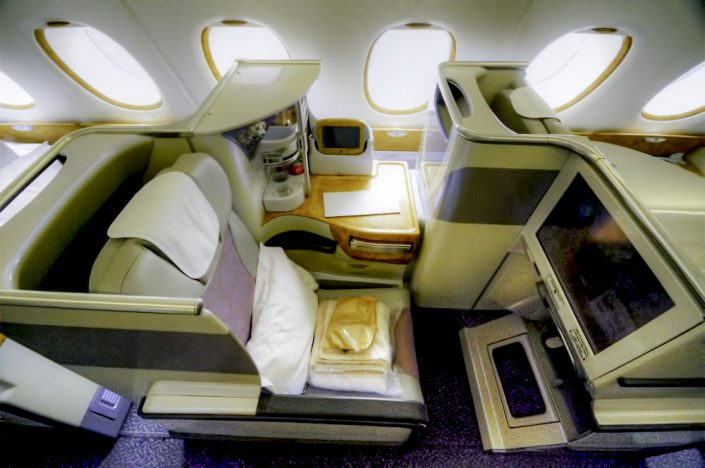Emirates business class rocks