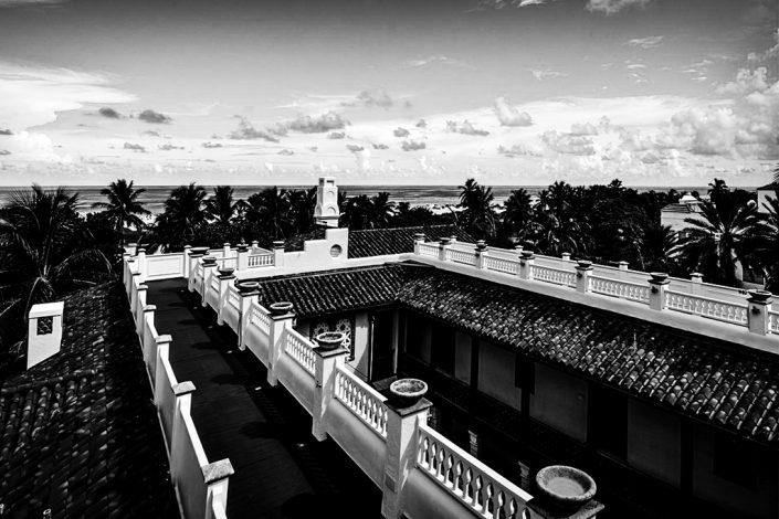 Versace's rooftop