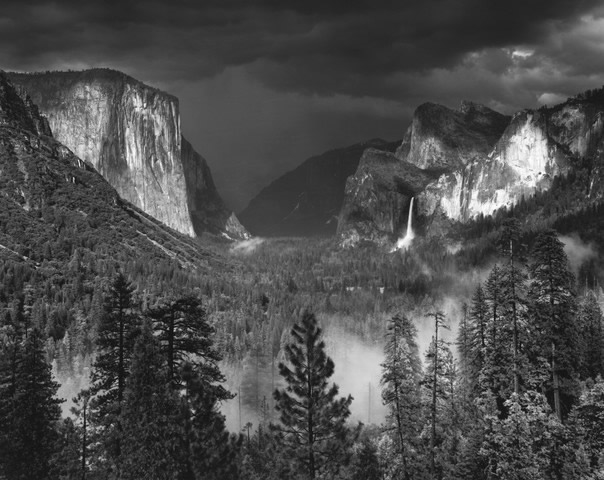 Yosemite Valley, 1949